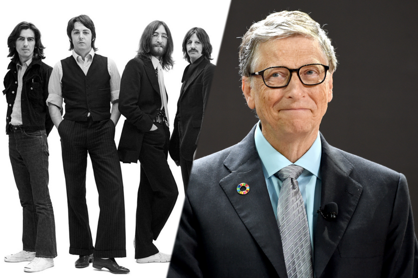 The Beatles and Bill Gates